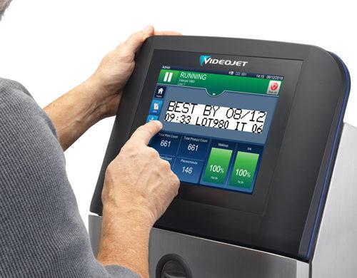 Βιομηχανικός εκτυπωτής Inkjet Videojet® 1860